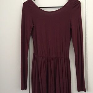 Gypsy Warrior Casual Dress with Low Back